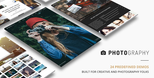 WordPress Templates Fotografie