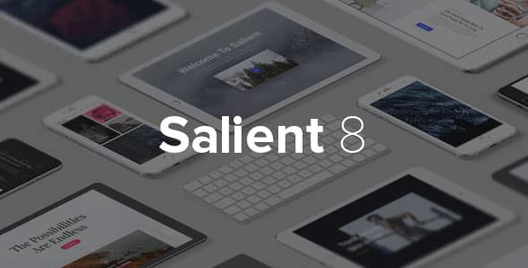 WordPress Templates Salient 8