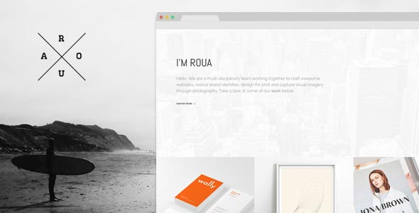 Roua Theme WordPress Templates