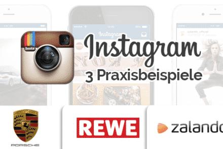 Instagram Werbeanzeigen Beispiele