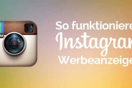 Instagram Werbeanzeigen