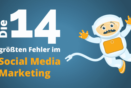 Social Media Marketing Fehler