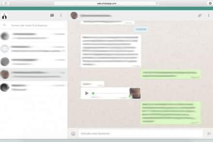WhatsApp am Mac verwenden