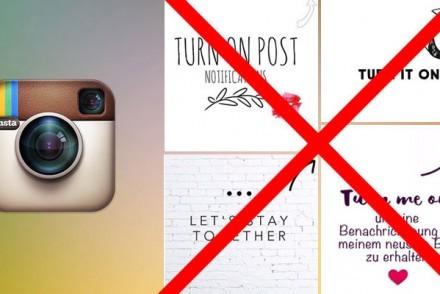 Instagram Timeline Update Notifications