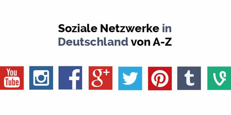 Soziale Netzwerke Liste