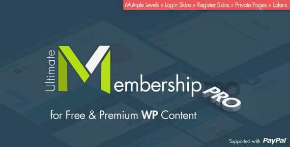 WordPress Mitgliedschaft Membership Plugin