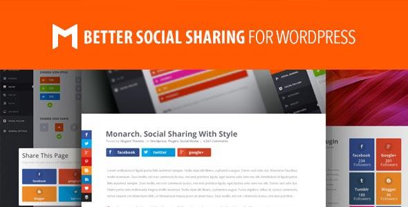 WordPress Plugin Monarch Social Sharing