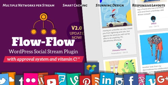 Social Stream Facebook Twitter WordPress Plugin