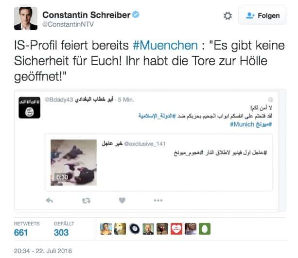 IS Terror München