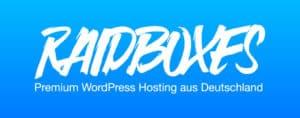 WordPress Hosting Raidboxes