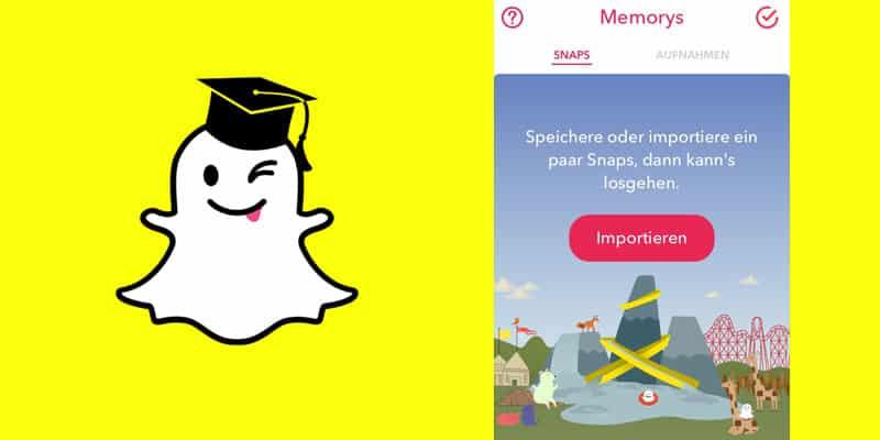 Snapchat Memorys