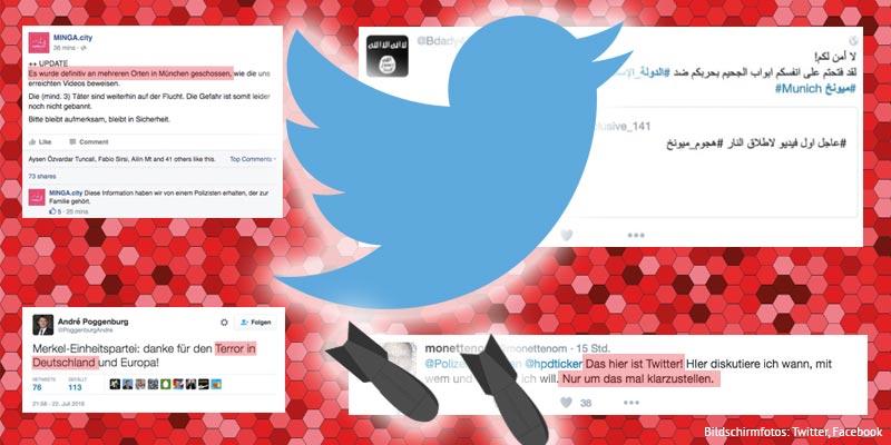 Social Media Kriegstreiber?