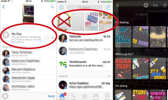 Facebook kopiert Snapchat