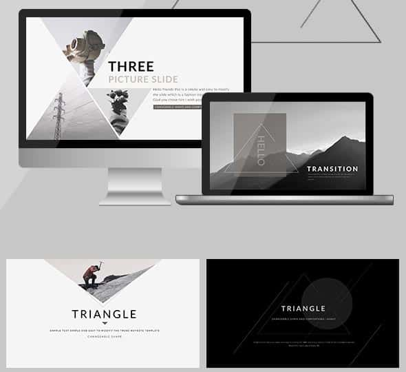 PowerPoint Templates Triangle