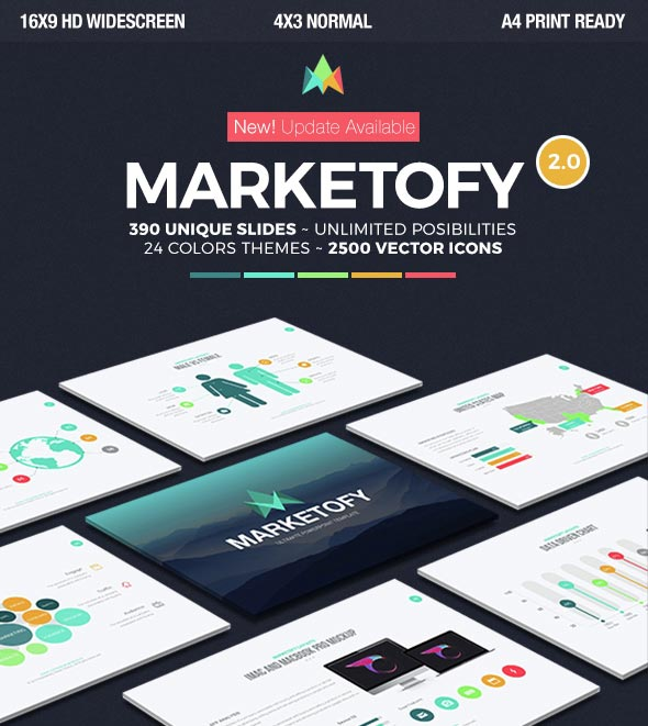 Marketofy Marketing Powerpoint Templates