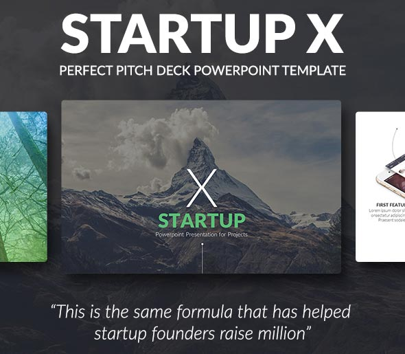 Powerpoint Template Startup