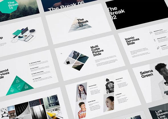 Powerpoint Templates Kaspian Theme