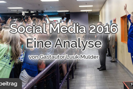 Social Media 2016 Analyse