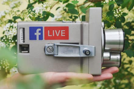 Live Videos bei Facebook, YouTube, Instagram
