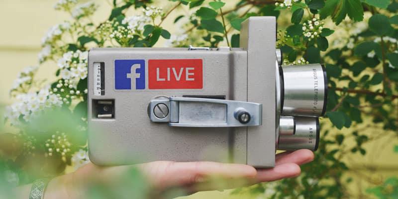 Live Videos bei Facebook, YouTube, Instagram