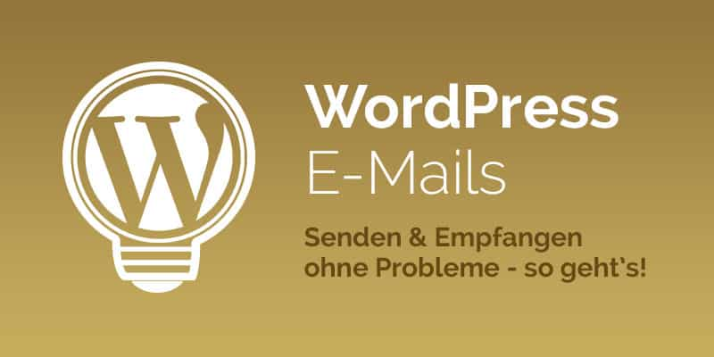 WordPress E-Mails